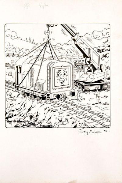 Untitled, Issue #80 (1990) - Thomas the Tank Engine [107/160]-386