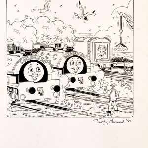 Untitled, Issue #122 (1992) - Thomas the Tank Engine [108/160]-387