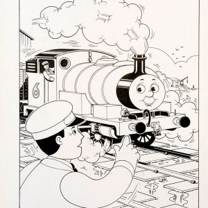 Something In The Woods, Issue #63 (1990) - Thomas the Tank Engine [109/160]-388