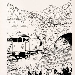 Trouble In The Tunnel, Issue #66 (1990) - Thomas the Tank Engine [110/160]