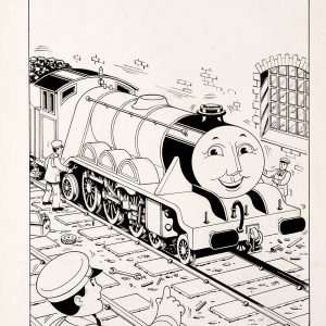 Edward & The Express, Issue #67 (1990) - Thomas the Tank Engine [112/160]