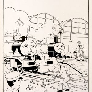 The Important Visitor, Issue #41 (1988) - Thomas the Tank Engine [117/160]-396