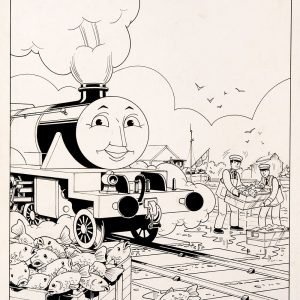 A Fishy Smell, Issue #44 (1989) - Thomas the Tank Engine [118/160]-397