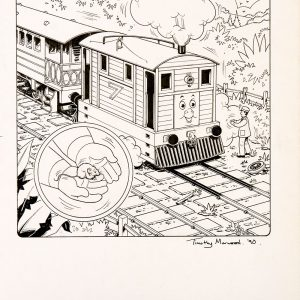 Issue #61 (1990) - Thomas the Tank Engine [122/160]