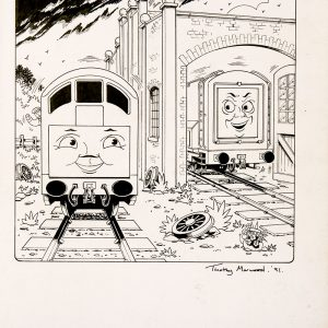 Issue #102 (1991) - Thomas the Tank Engine [123/160]-402