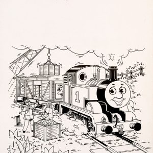 Cranes, Issue #204 (1991) - Thomas the Tank Engine [124/160]-403