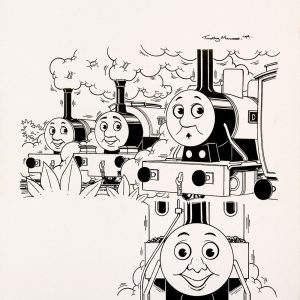 Duncan Get's Cross, Issue #207 (1999) - Thomas the Tank Engine [128/160]