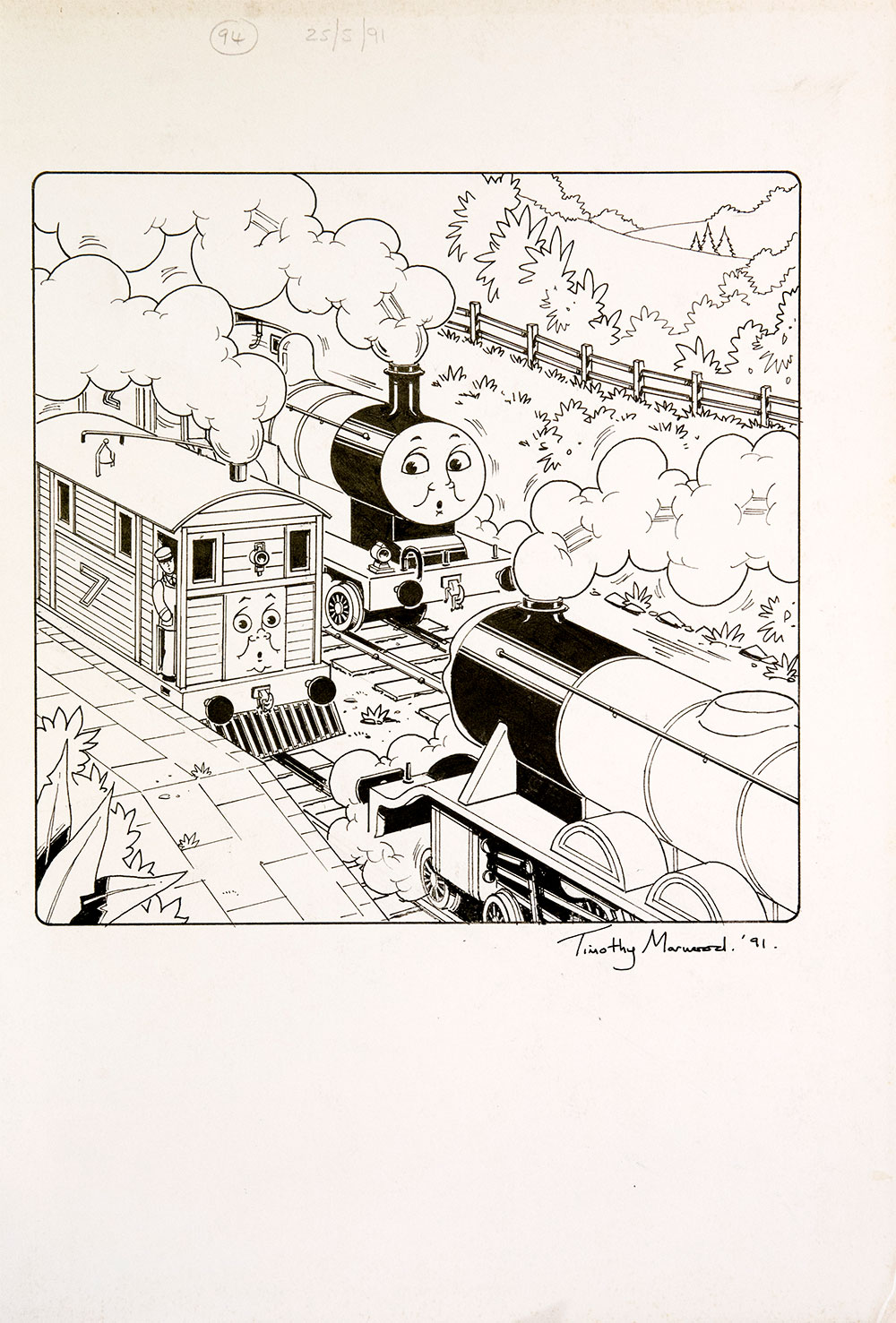 Issue #94 (1991) - Thomas the Tank Engine [146/160]