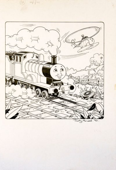 Issue #58 (1990) - Thomas the Tank Engine [149/160]