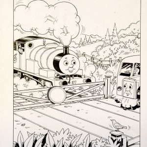 Trouble With Water, Issue #79 (1990) - Thomas the Tank Engine [151/160]-430