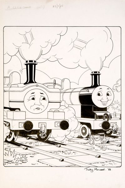 A Close Shave, Issue #20 (1988) - Thomas the Tank Engine [155/160]-434