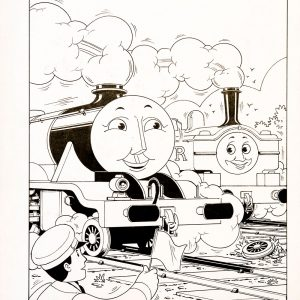 The Lost Coach, Issue #82 (1990) - Thomas the Tank Engine [159/160]-438