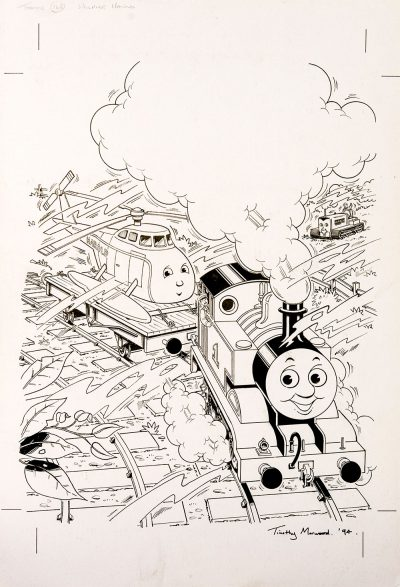 A Helping Hand, Issue #168 (1994) - Thomas the Tank Engine [160/160]