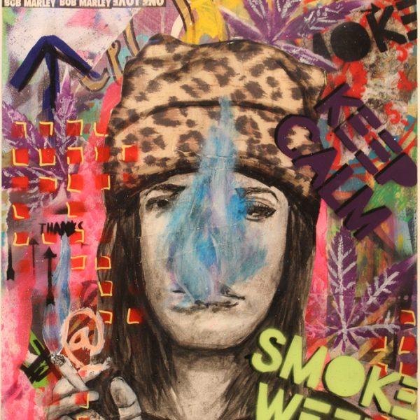 Keep Calm Smoke Weed