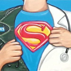 Rachel List NHS Dr Superman